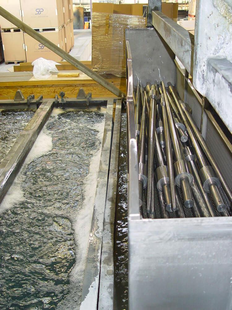Mise en place d'une gamme pour le traitement de surface du Magnésium